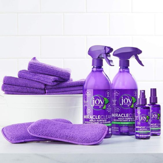 Joy Miracle Clean FastampPowerfulPiece DisinfectampClean Super SetVanilla HealthampPersonal Care, Amazon Affiliate link….