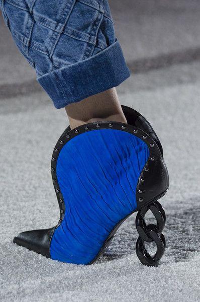 1c144b319a4 Balmain Shoes Fall 2018 Took Futuristic Theme To The Next Level ...