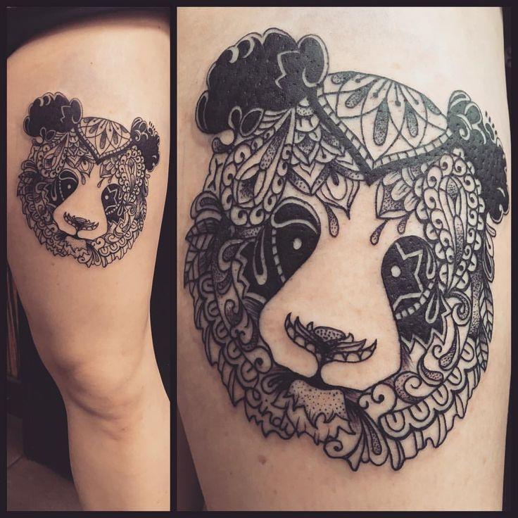 1000+ Ideas About Panda Tattoos On Pinterest