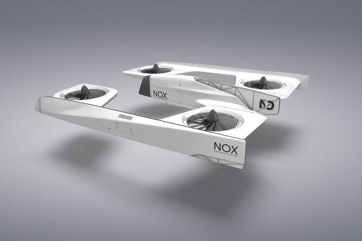 NOX FPV quadcopter concept, Samuel Nicz, design