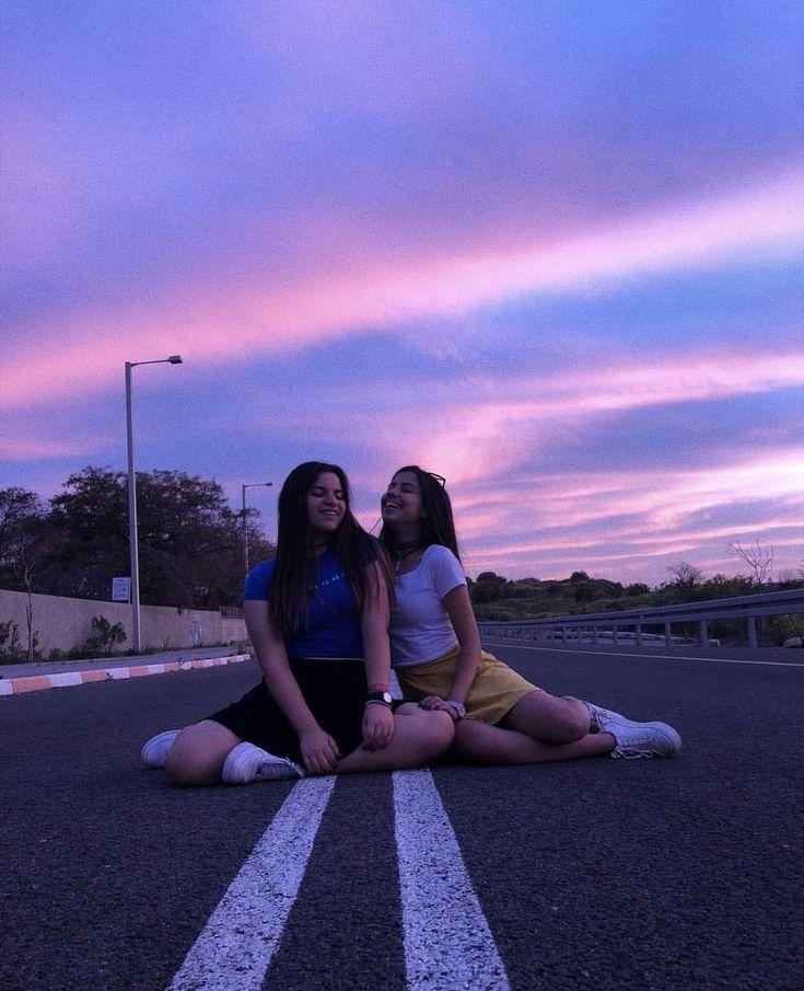 beautiful sunset and friendship #bff – Vera Klink