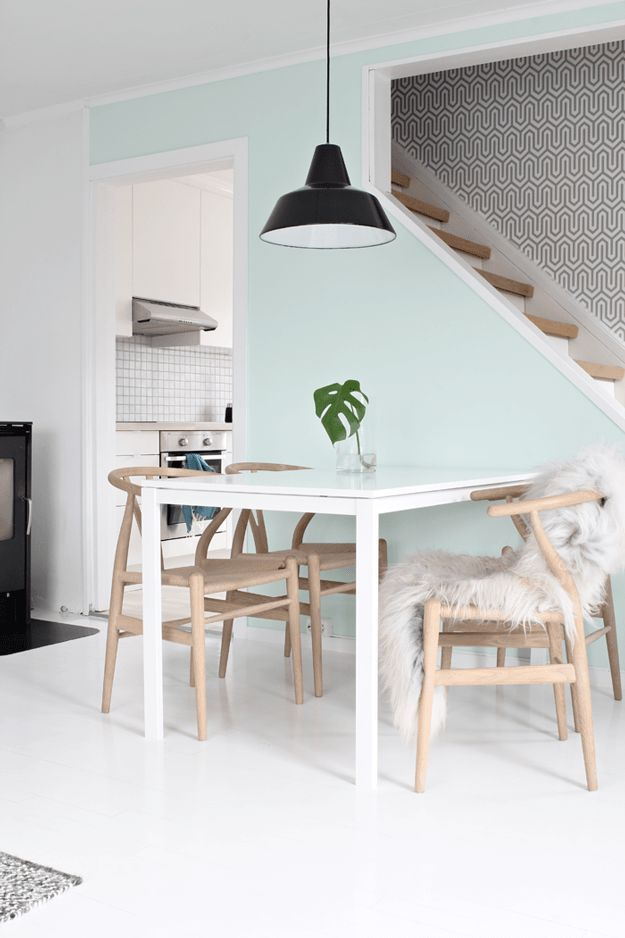 Best 25 norwegian style ideas on pinterest norwegian homes scandinavian dog houses and - Light blue and mint green ...