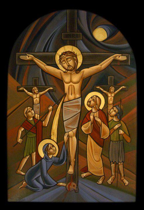 """Résultat de recherche d'images pour """"Icône Copte de la crucifixion"""""""