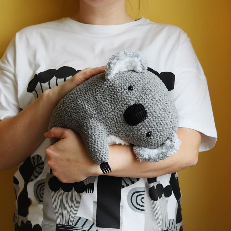 George The Koala - Cuddly Amigurumi Pattern