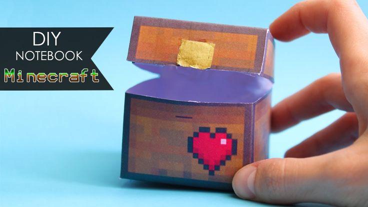 DIY Notebook 🗡 Minecraft