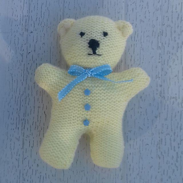 Ravelry: Little Lemon Teddy Bear pattern by Esther Kate in ...