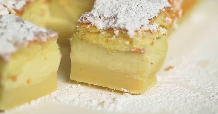 Sforna la torta magica di GialloZafferano e scopri come ottenere il triplo strato con la consistenza di un flan, di un budino e di un classico pan di spagna.
