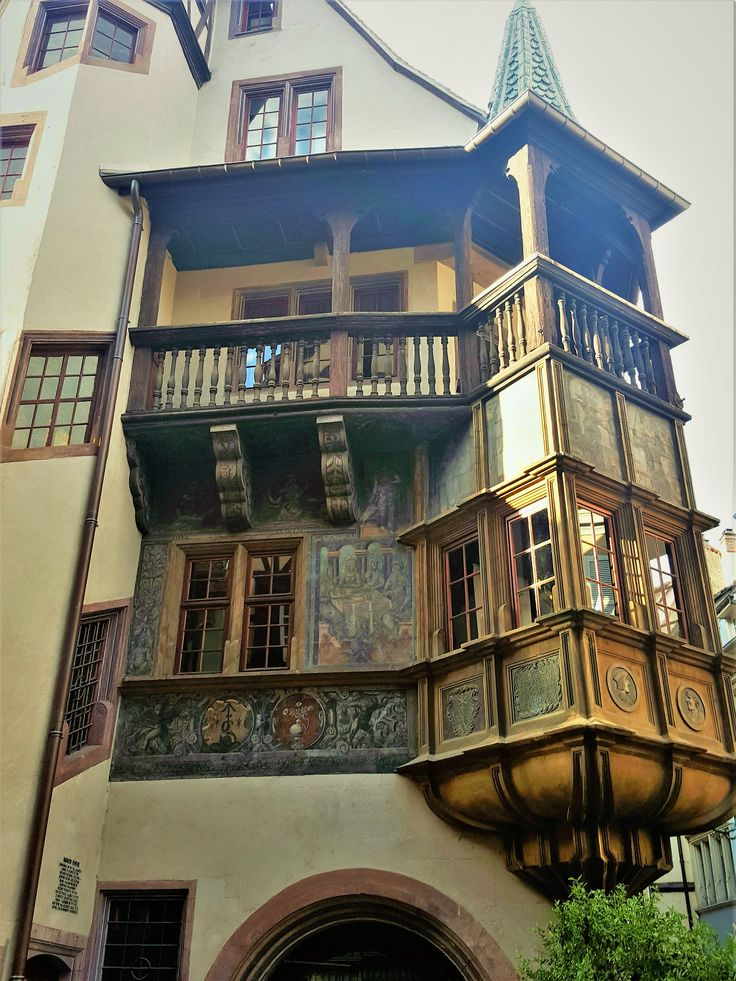 Walking the streets of Colmar, France, you are living the past.