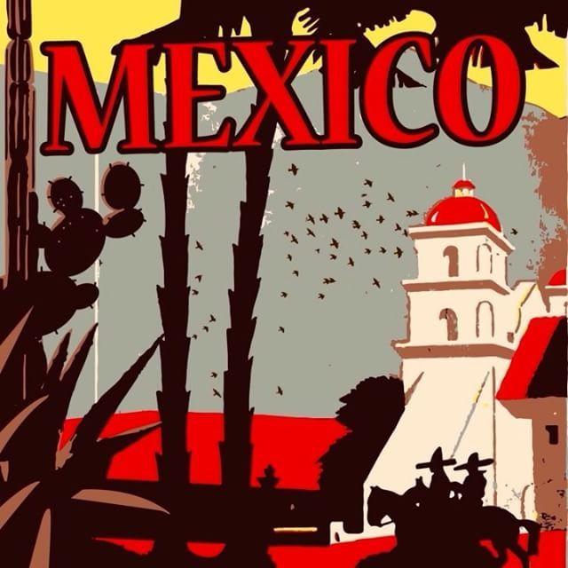 Bol acılı yemekleri, Mariachi müzikleri ile bilinen Meksika oldukça eğlenceli bir şehir! #Maximiles #Meksika #Mexico #Mariachi #ArtDeco #vintage #poster #travel #city #postcard #dans #dance #taco #holiday #vacation #seyahat #tatil #şehir #kartpostal #gezi #ÖzgürceUç #DünyaSizin #OnuİyiKullanın #ŞehirPosterleri #instagood #picoftheday #instacity