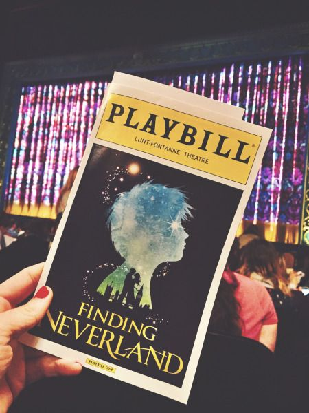 Finding Neverland @Playbill