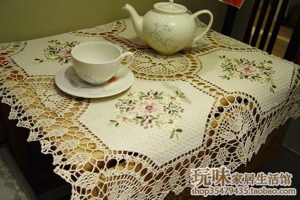 2014 новый zakka женщин , как скатерть для свадьбы вышивка стол для домашнего декора круглый кружева runnercrochet, принадлежащий категории Скатерти и относящийся к Дом и сад на сайте AliExpress.com | Alibaba Group