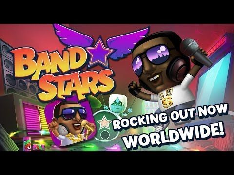 Form a band, hit the studio and start recording! Train up your band and complete challenges as you make your way to the top of the charts. Fame and fortune await! Set your sights on world stardom and make your way to the top of the local, national and global charts. Discover each of the 50 super-cool Band Stars characters and complete over 200 unique challenges!