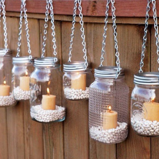 Outdoor Lighting · Hanging Mason JarsMason ...