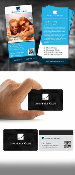 Flyer and Loyalty Card Design by STREN