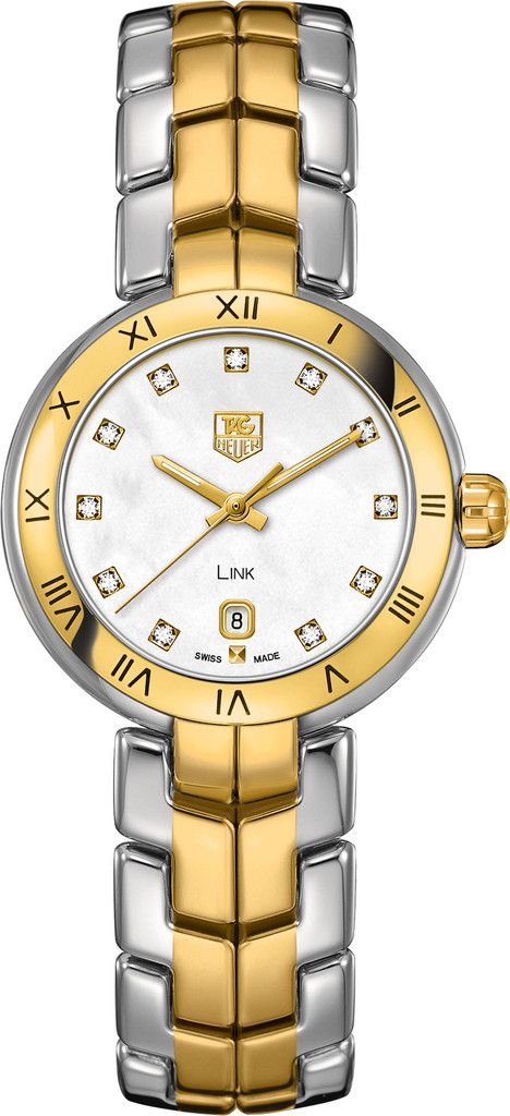 @TAG Watch Link Diamond Dial #add-content #bezel-fixed #bracelet-strap-gold #brand-tag-heuer #case-material-yellow-gold #case-width-29mm #date-yes #delivery-timescale-4-7-days #dial-colour-white #gender-ladies #luxury #movement-quartz-battery #official-stockist-for-tag-heuer-watches #packaging-tag-heuer-watch-packaging #style-dress #subcat-link #supplier-model-no-wat1453-bb0960 #warranty-tag-heuer-official-2-year-guarantee #water-resistant-100m
