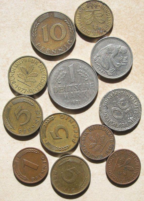 Die gute alte DM - und jetzt haben wir so ein finanzielles Sorgenkind mit dem Namen €uro - Collectable+coins | German Coins, Collectible Coins, Vintage Coins, Old Deutsch Mark Coins