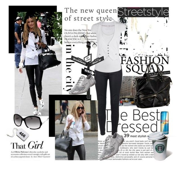 """Celebrity Look: Olivia Palermo"" by carmencita85 ❤ liked on Polyvore featuring Avenue, Victoria Beckham, Guide London, The Cambridge Satchel Company, DKNY, Diesel, High Fashion and Tag"