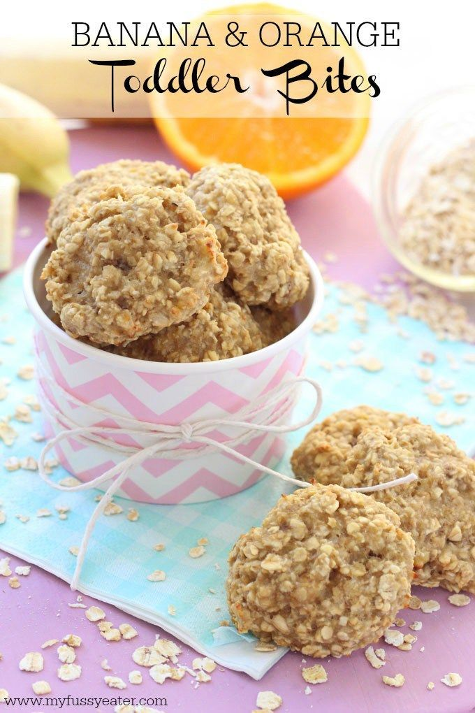 Make these delicious and healthy snacks for kids with just three simple ingredients. Great for toddlers and weaning babies with a few teeth! My Fussy Eater blog