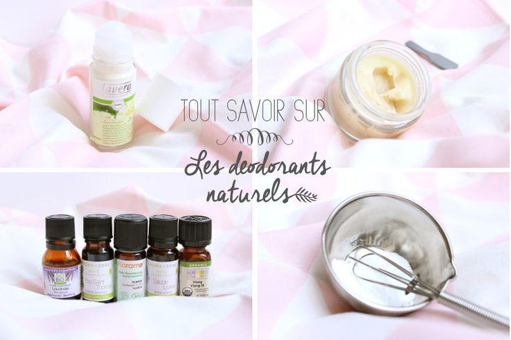 déodorants naturels