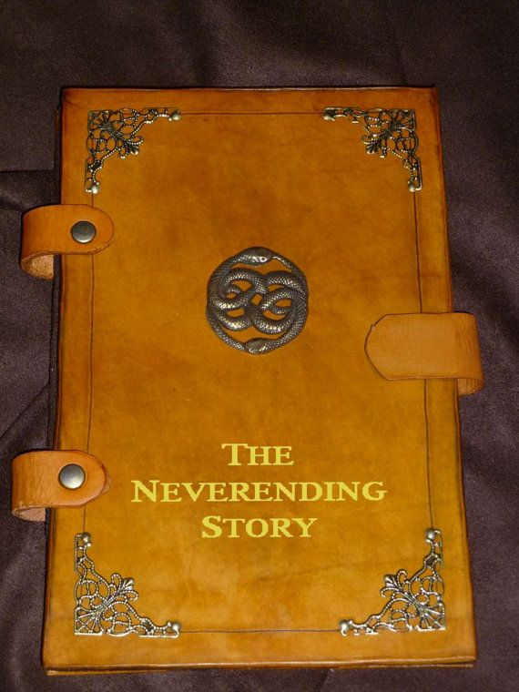 Pretty neat! Neverending Story iPad / Tablet Cover by GrimcatProductions