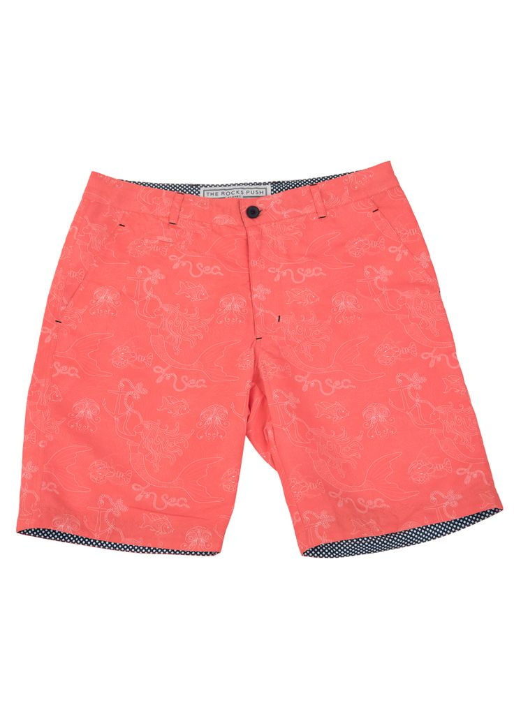 Blueys Coral Mermaid Men's Swim Shorts | The Rocks Push