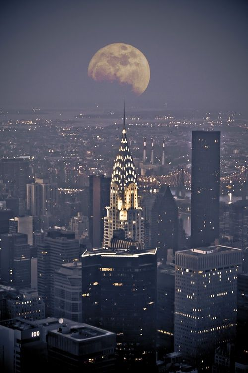 New York City nightscape