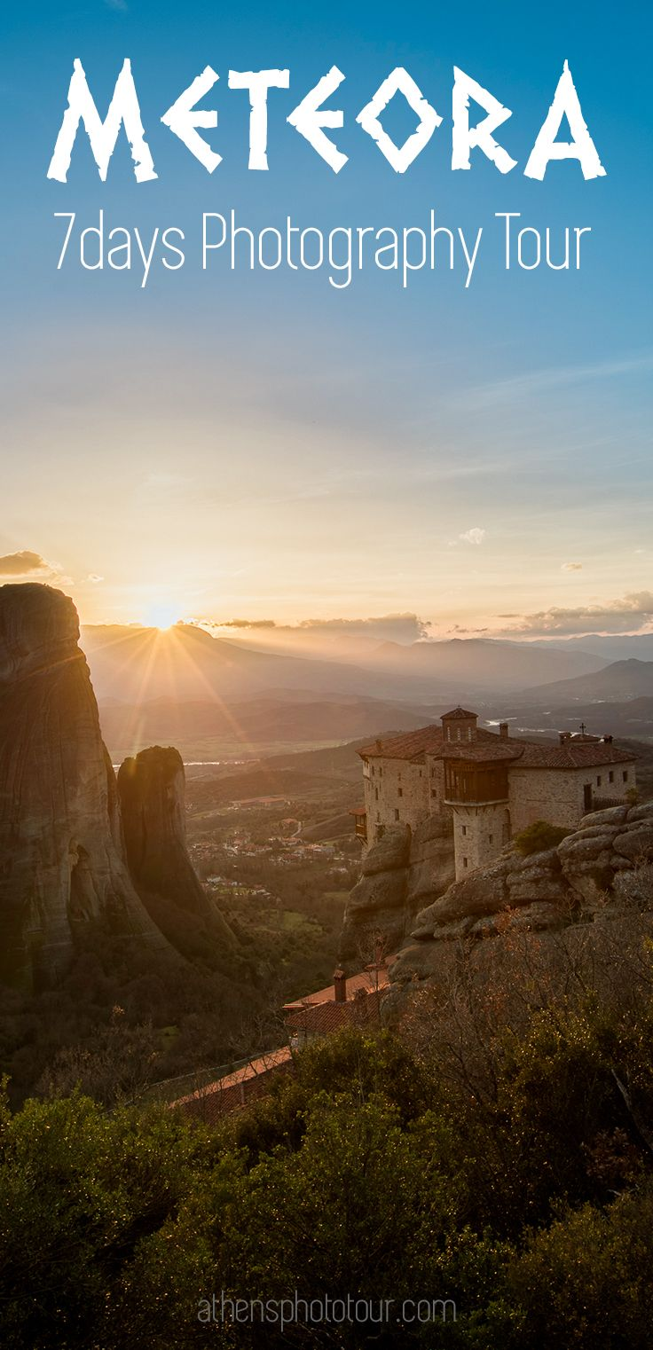 This once in a lifetime photo tour to North Greece, is the 7days Meteora Zagori Photo Tour. Travelling to this unique North Greece location, Meteora rocks offers incredible photography moments. It's the perfect background for landscape photography, unique scenery that you can not find anywhere else in Greece.