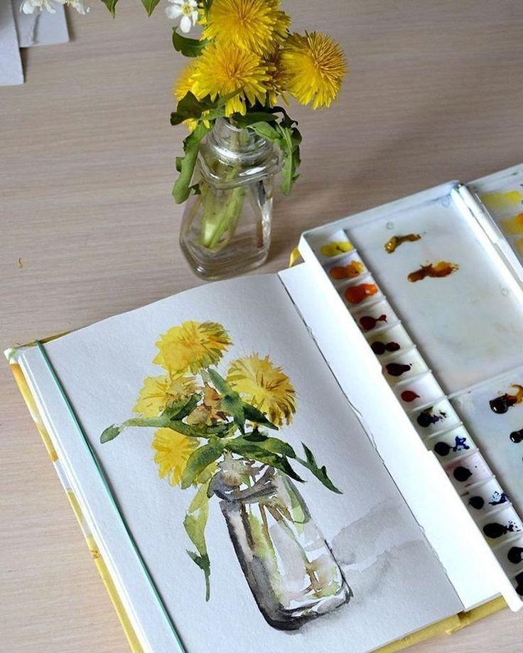 "1,079 Likes, 1 Comments - Watercolor illustrations (@watercolor.illustrations) on Instagram: "" Watercolorist: @svekla_art #waterblog #акварель #aquarelle #painting #drawing #art #artist…"""