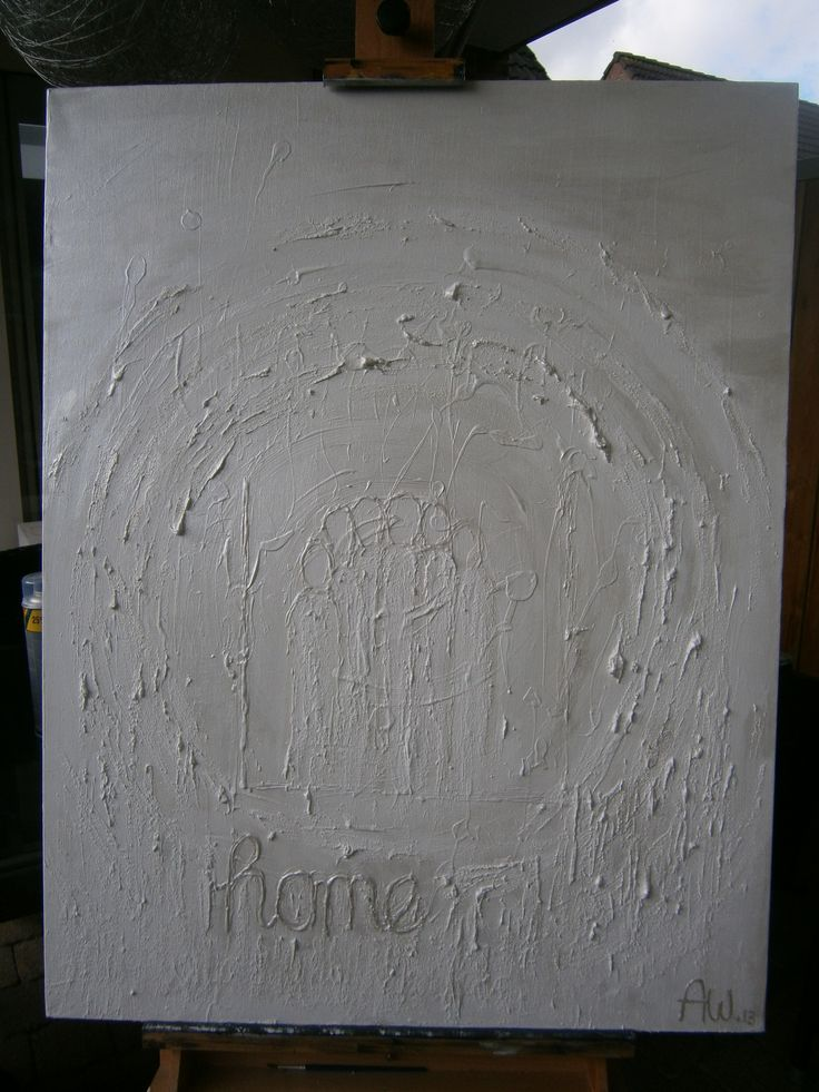 White Painting...Home made ...