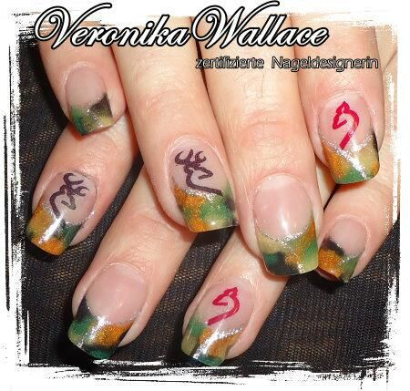 24 best nail ideas images on pinterest camo nails camouflage camoflage nails mossy oak stile eingebetteter bild link prinsesfo Gallery