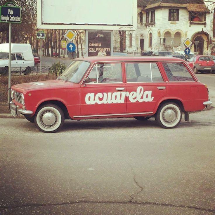 Lada 1200 Breck — in Bucharest.
