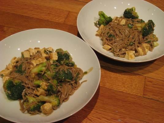 Ginger-Poached Noodles - vegan, vegetarian   Marisa's Healthy Kitchen ...