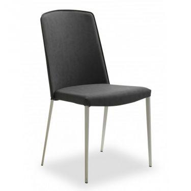 € 129,25 DREAM 2 #sconto 45% #sedia da #cucina, gambe in #metallo e sedile/schienale imbottiti e rivestiti in ecopelle #nero. #Design moderno. In #offerta prezzo su #chairsoutlet factory #store #arredamento. Comprala adesso su www.chairsoutlet.com