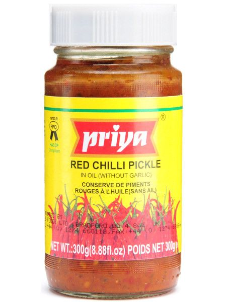 Indian Spices Online - Priya Chilli Pickle 300 gm, $3.99 (http://www.inspice.com.au/priya-chilli-pickle-300-gm/)