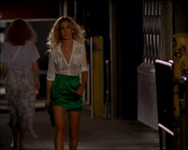 Carrie Bradshaw's Last Night with Big outfit: love it!