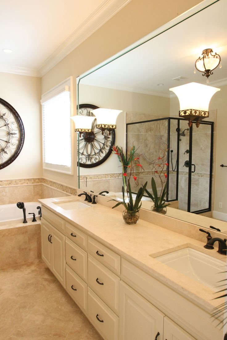 Damascus Southern Country Home Master Bathroom Photo 03 from houseplansandmore.com