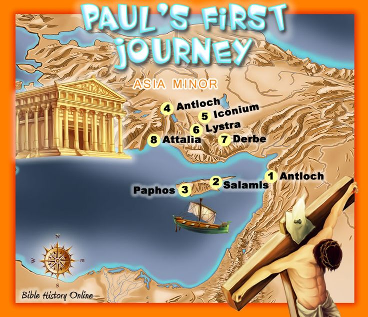 The Fisrt Missionary Journey of the Apostle Paul