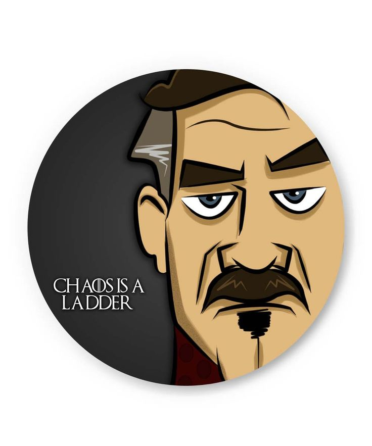 Chaos is a Ladder | Peter Baelish Game Of Thrones Fridge Magnet