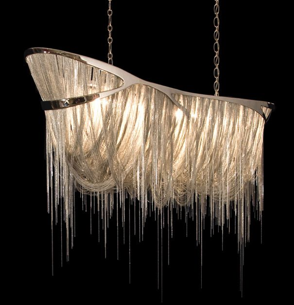 Hudson furniture-I've never been a big chandelier lover, but this is just SICK!