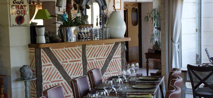 restaurant Graines et Garenne, situé à Châteauneuf-sur-Charente. Restaurant gastronomique, cuisine élaborée, cadre accueillant.