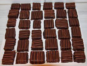 Anette's kaker: Hjemmelaget Troika konfekt.