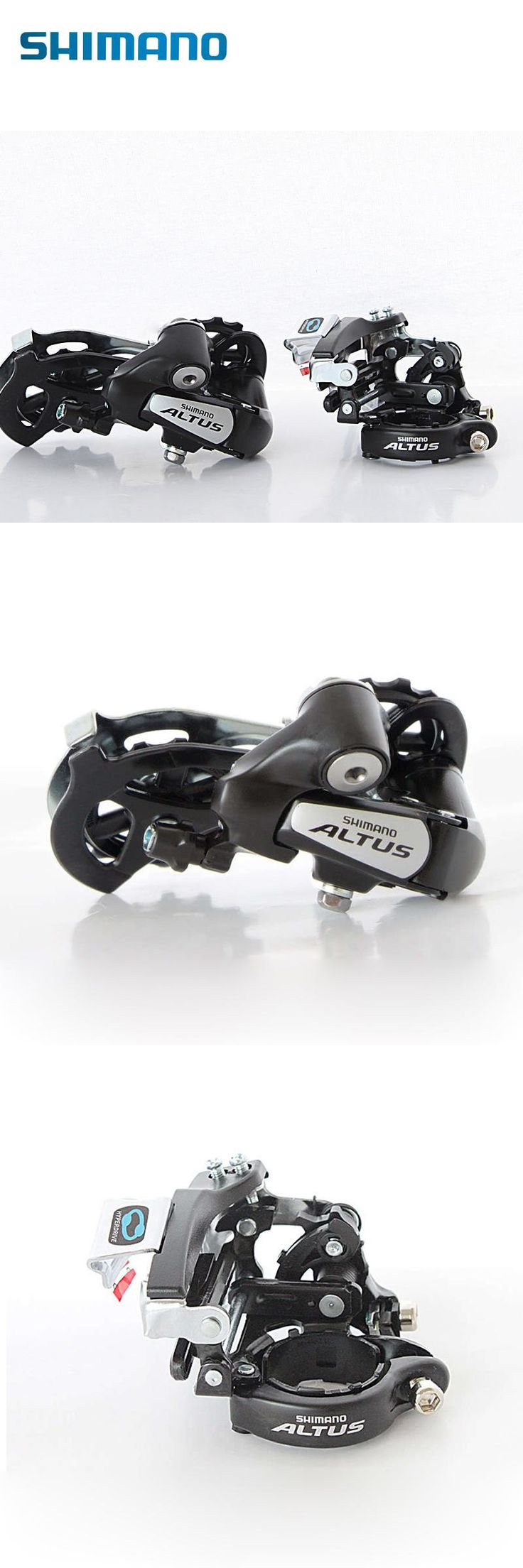 [Visit to Buy] SHIMANO RD-M310 MTB Mountain Bike Front Derailleur FD-M310 & Rear Derailleur 7/8S Black #Advertisement