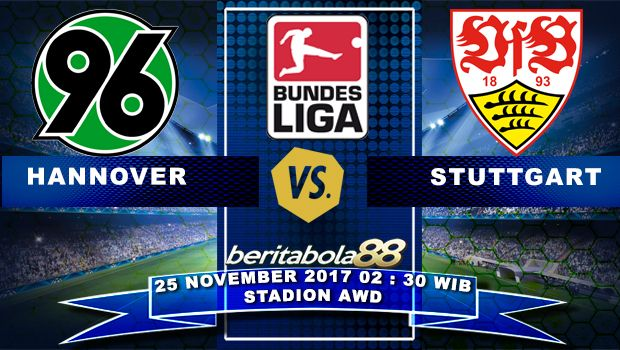 Prediksi Bola Hannover vs Stuttgart 25 November 2017 BundesLiga
