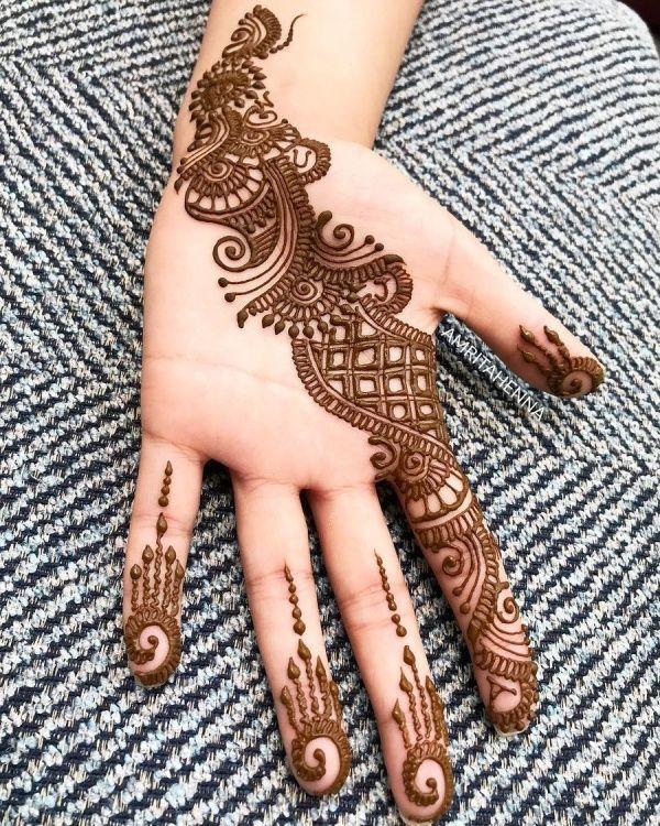 50 Simple Arabic Mehndi Designs For Left Hand Buzz Hippy