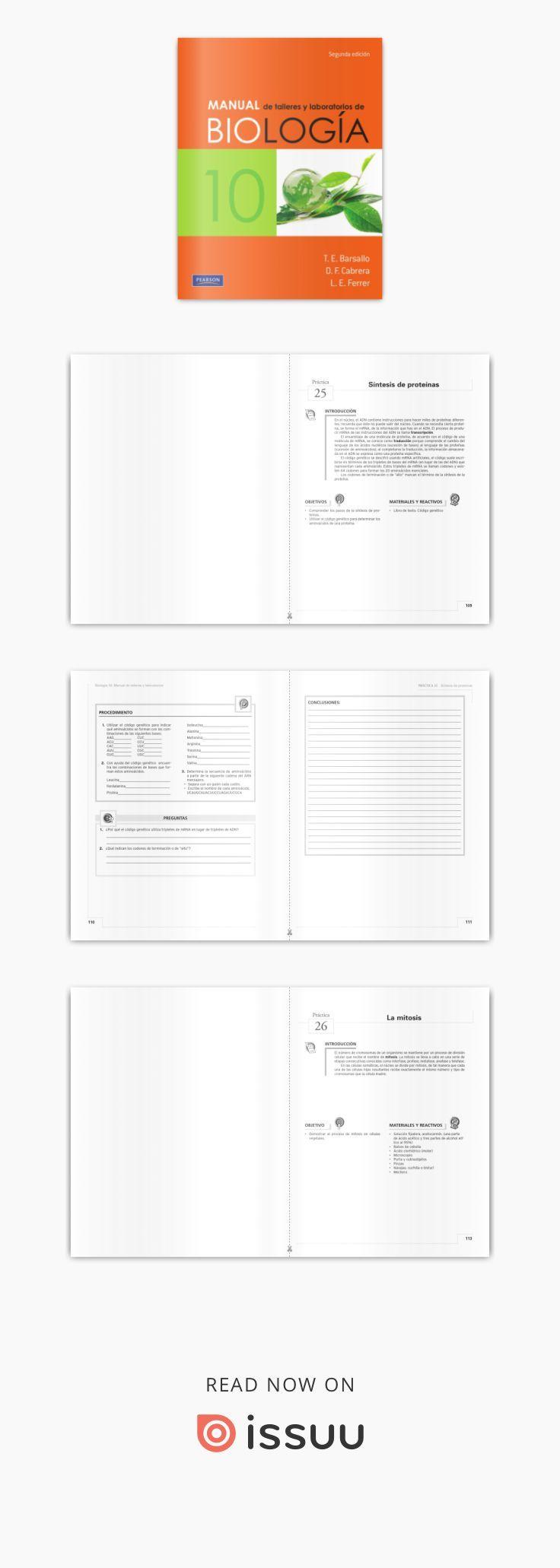 Manual de talleres y laboratorios de biologia 10 barsallo