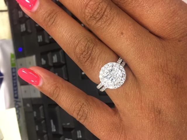 Neil Lane Engagement Ring 1-1/2 carat   I Do Now I Don't