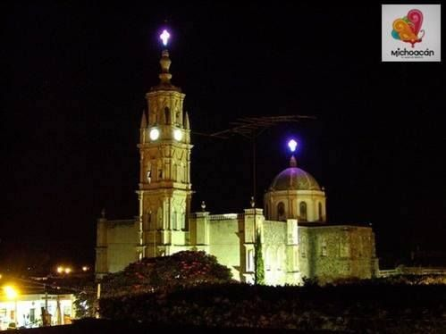 iglesia de Santa Ana Maya, Michoacan- MI HERMOSO PUEBLO!