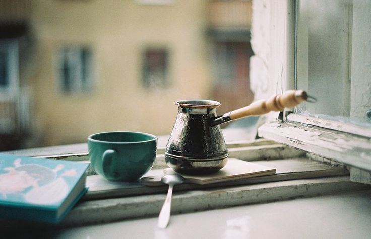 coffee by the window