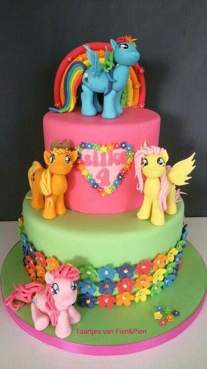 My Little Pony Cake Hannah S 4th Birthday Little Pony