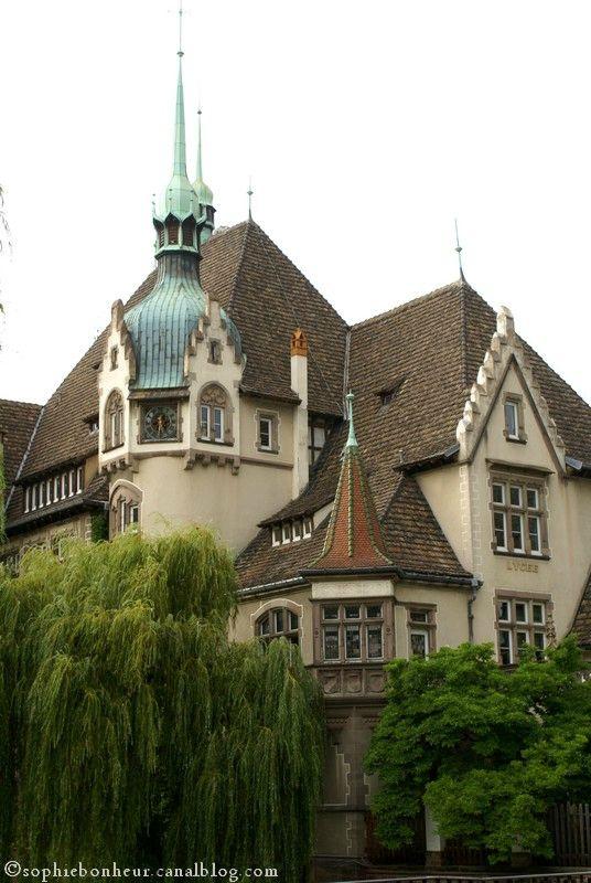 Strasbourg 2 lycée des Pontonniers